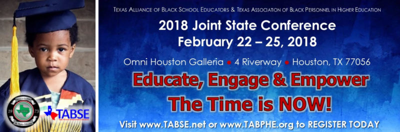 2018 TABSE State Conference Banner