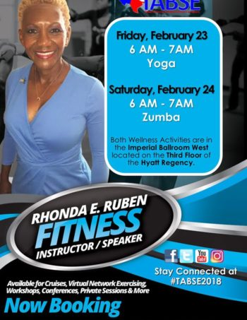 Yoga and Zumba 2018 TABSE Conference