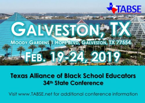 2019 TABSE Conference Save the Date