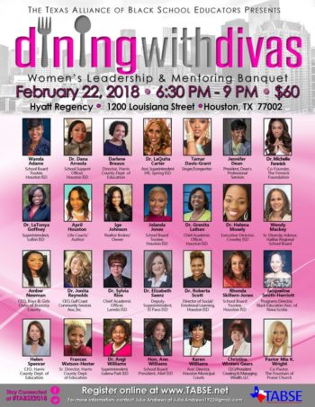 Dining with Divas 2018 TABSE Joint Conference