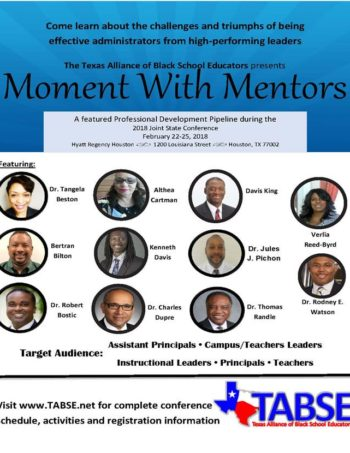 Moment with Menotrs - 2018 TABSE Joint Conference