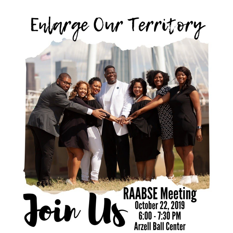 RAABSE Meeting - Join Us 10-22-19