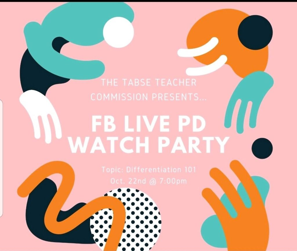 TABSE Teacher Commision FB Live Watch Party 10-22-19