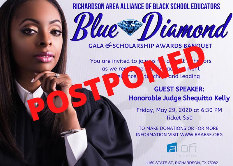 Blue Diamond Postponed