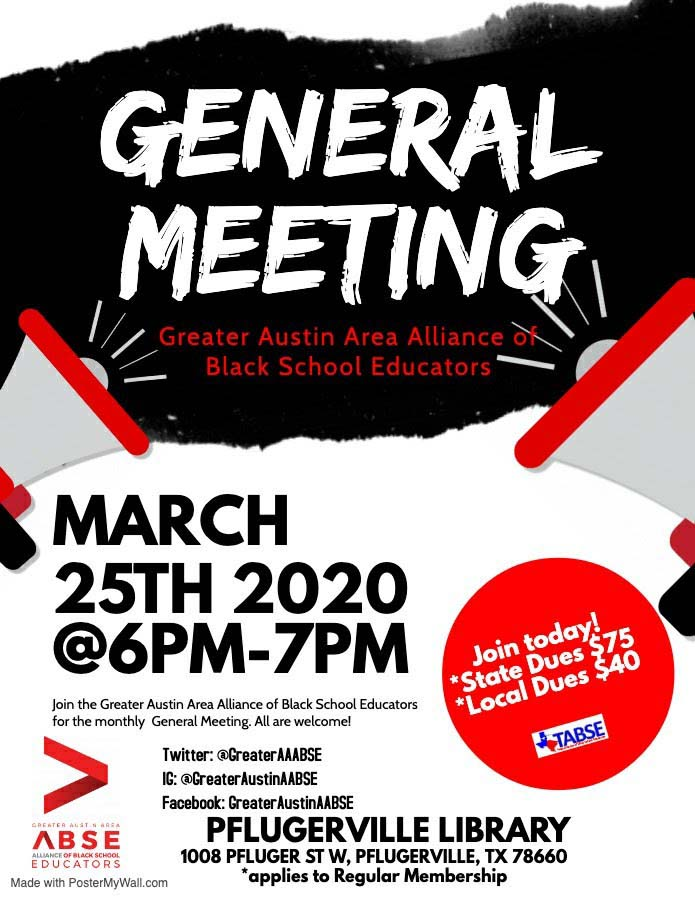 Greater Austin General - March 2020