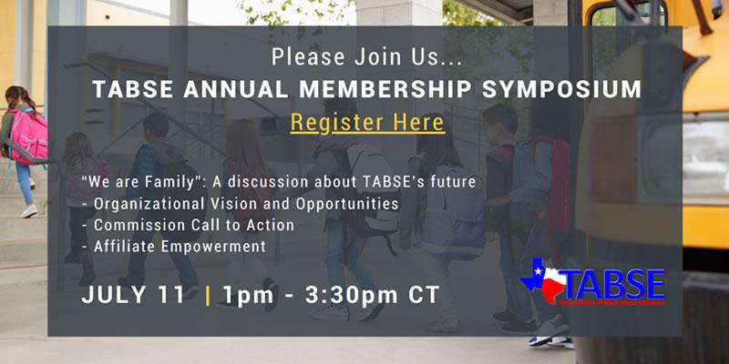 TABSE Annual Membership Symposium