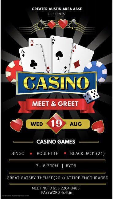 Greater Austin Presents Casino Meet and Greet
