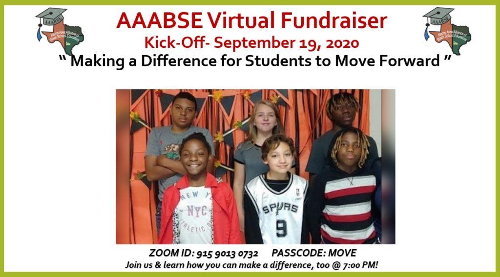 AAABSE Virtual Fundraiser Kickoff