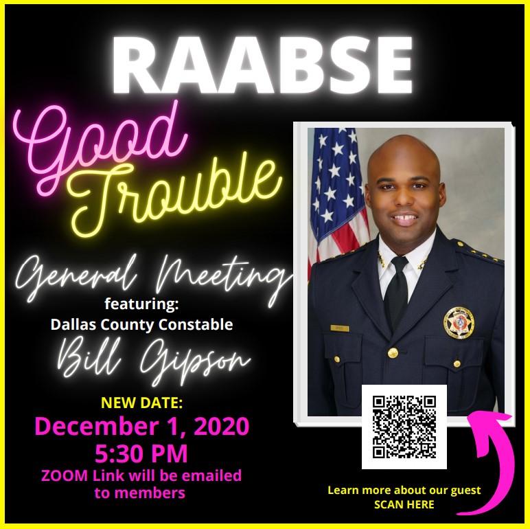 RAABSE Good Trouble General Meeting