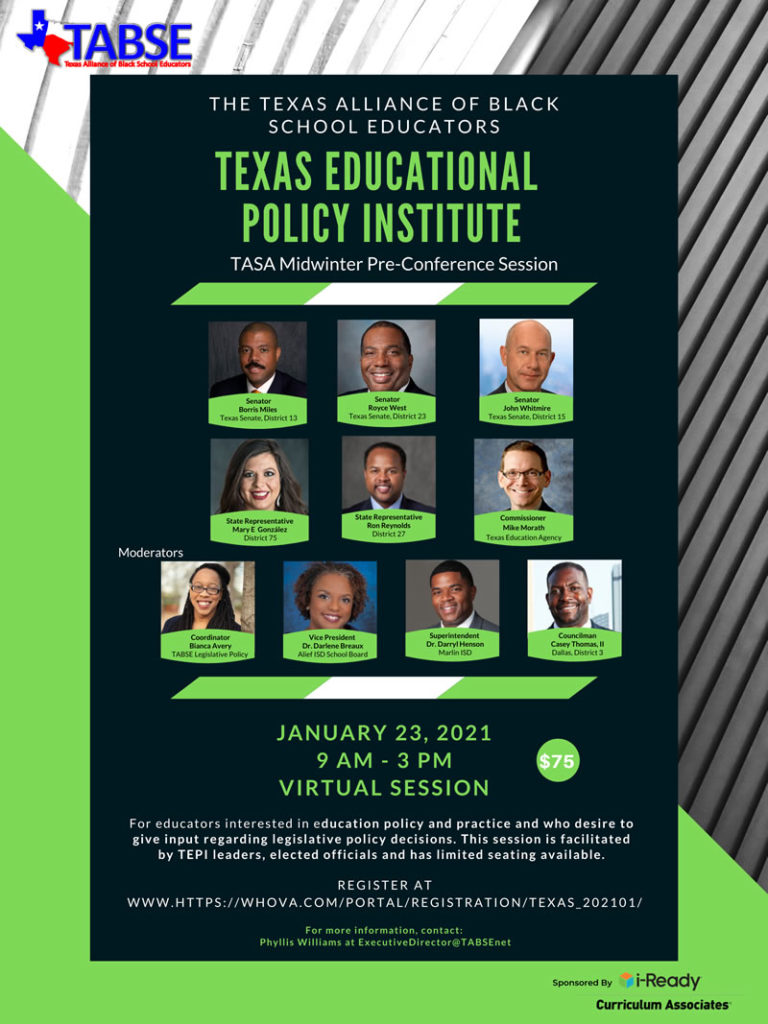 2021 TEPI Midwinter Pre Conference Session