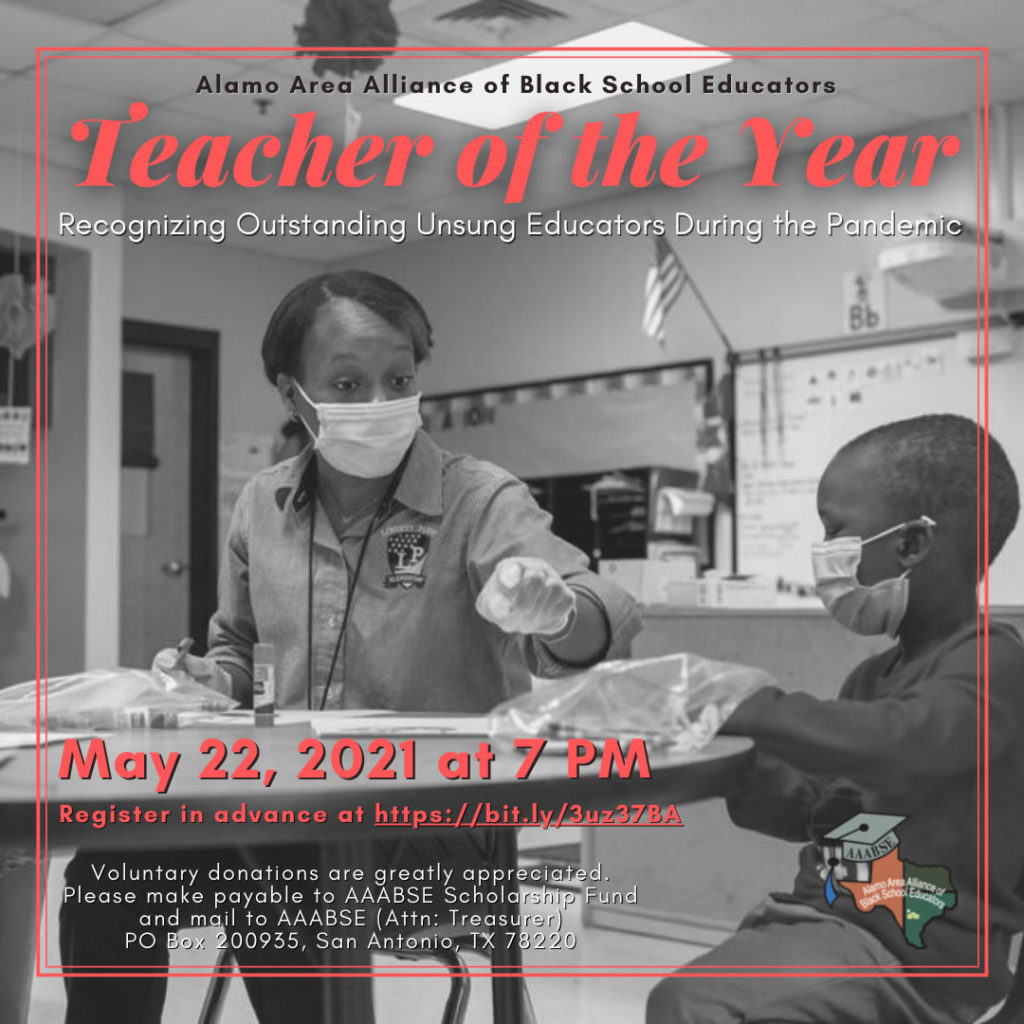 Alamo ABSE Teacher of The Year 2021 Awards