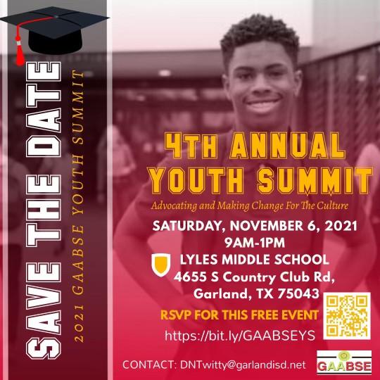 Annual Youth Summit - November 6th 2021