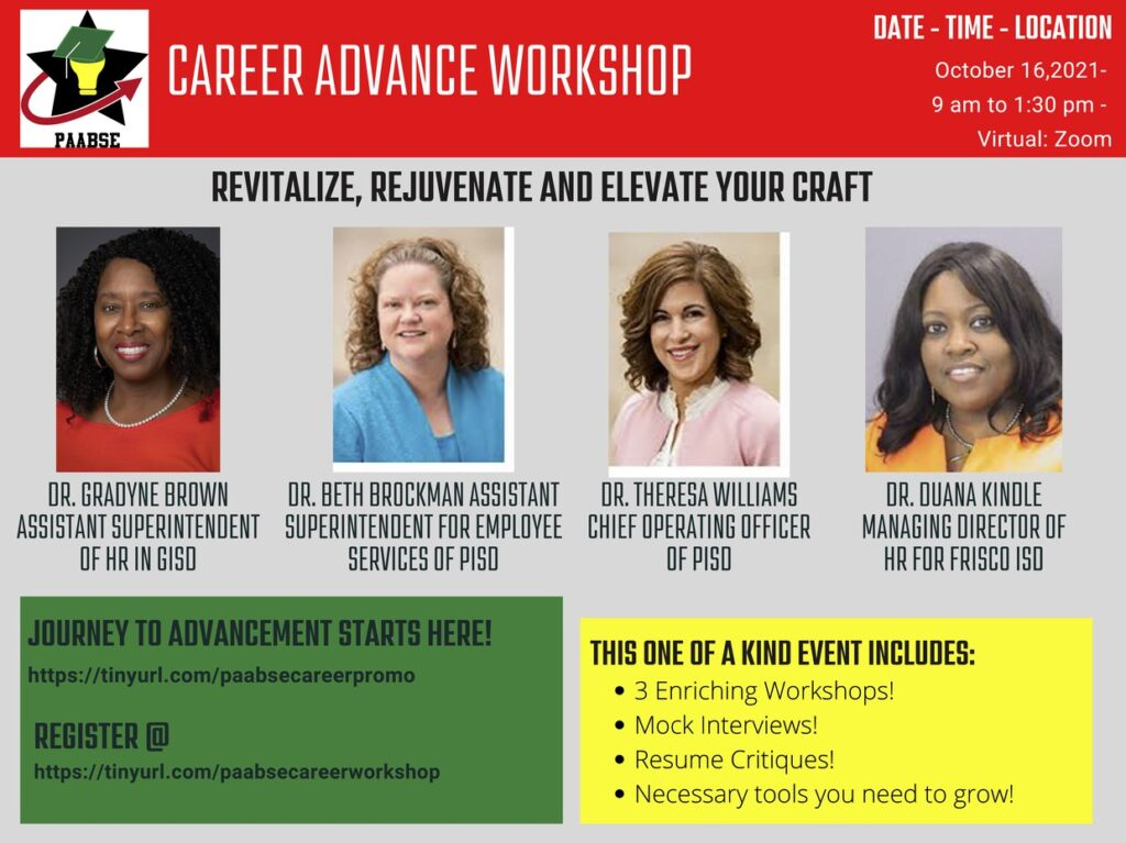 PAABSE Career Advancement Workshop